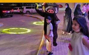 في أول عام لها في حي القيروان مدارسنا تحتفل بعيد الفطر المبارك